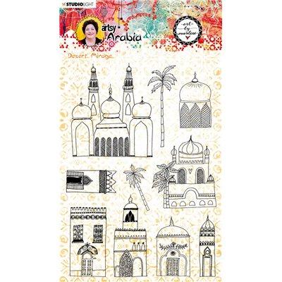 Art By Marlene - Artsy Arabia szilikonbélyegző des.58