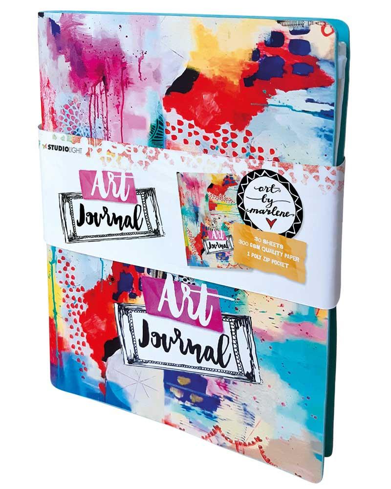 Art by Marlene Artsy Arabia Art Journal des.11