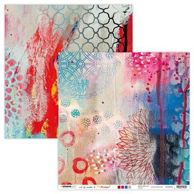 Art by Marlene Scrap Artsy Arabia des.2 - 12x12-es scrapbook papír