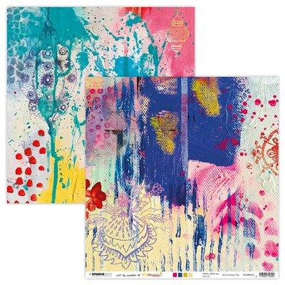 Art by Marlene Scrap Artsy Arabia des.4 - 12x12-es scrapbook papír