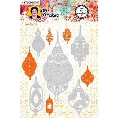 Art by Marlene Vágó. és domborító szett - Artsy Arabia des.11