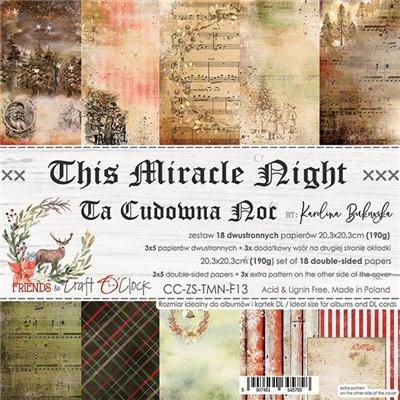 This Miracle Night - papírkészlet 20,3x20,3cm