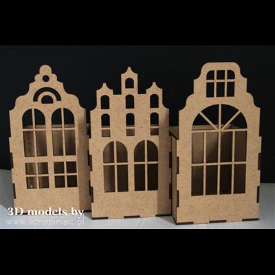 Díszíthető épületek