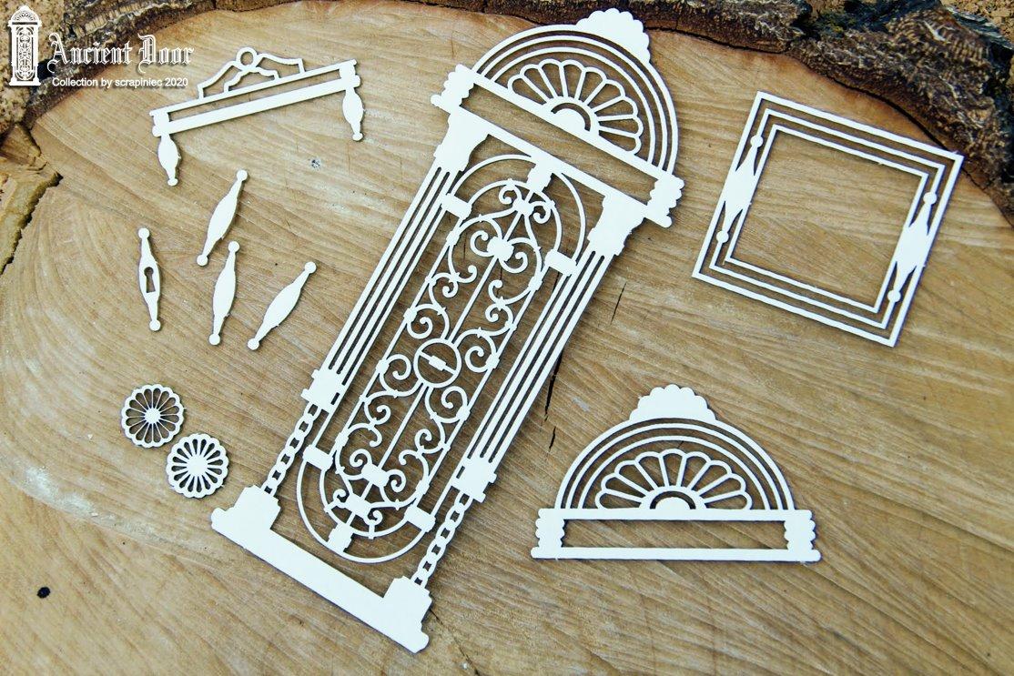 Ancient Door - openwork des.2