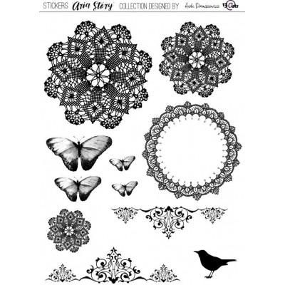 Aria Story elem matrica - fekete