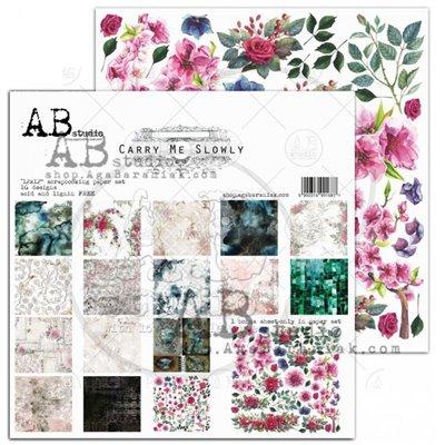Carry me slowly 12-es scrapbook papír kollekció