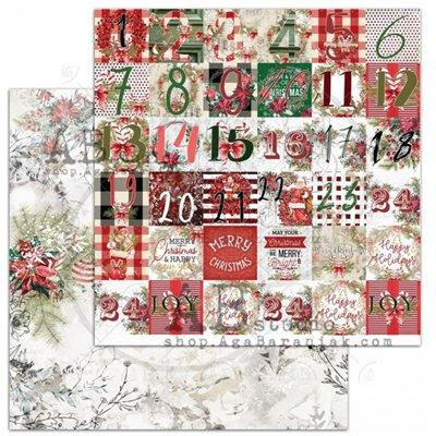 A Holly Jolly Christmas sheet 2 - Christmas calendar