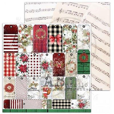 A Holly Jolly Christmas sheet 7 - Jolly tags
