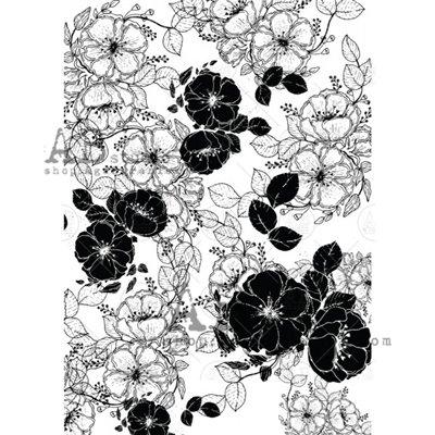 Arany fóliás mintás pauszpapír 0114