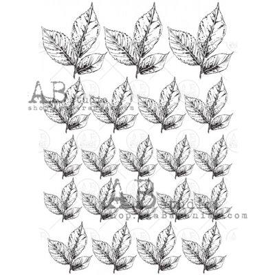 Arany fóliás mintás pauszpapír 0111