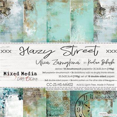 Hazy Street - papírkészlet 20,3x20,3cm