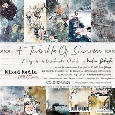 A Twinkle of Sunrise - papírkészlet 20,3 x 20,3 cm