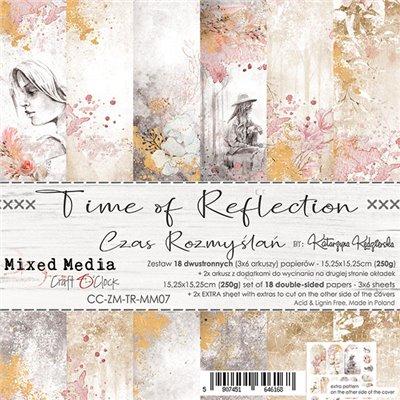 Time of Reflection - papírkészlet 15,25 x 15,25 cm