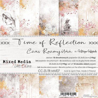 Time of Reflection - papírkészlet 20,3 x 20,3 cm