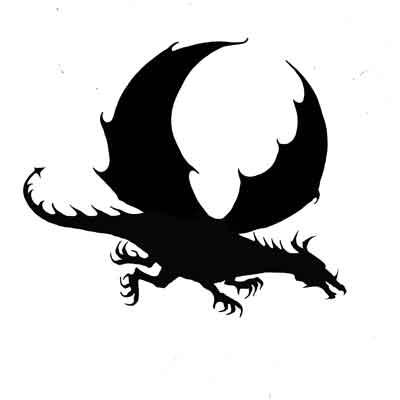Dragon (miniature) polimer bélyegző