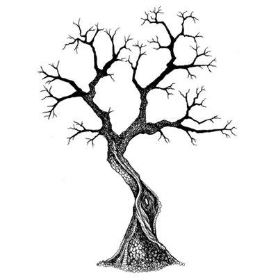 Sacred Tree polimer bélyegző
