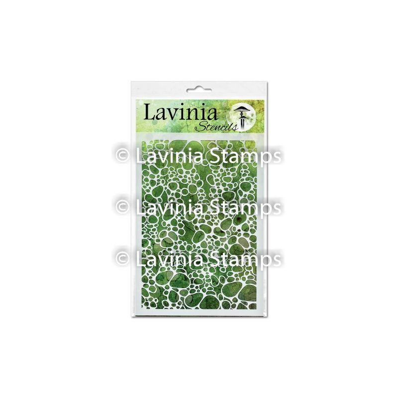 Pebble - Lavinia Stencil polimer bélyegző