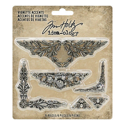 Tim Holtz - Idea-ology - Vignette Accents - 6db