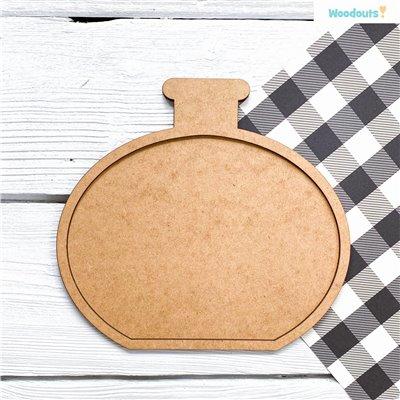 Bájitalpalack kerettel - 25 cm