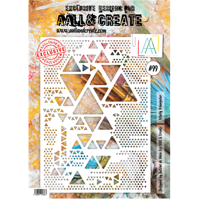 AALL and Create stencil no.099