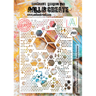 AALL and Create stencil no.108