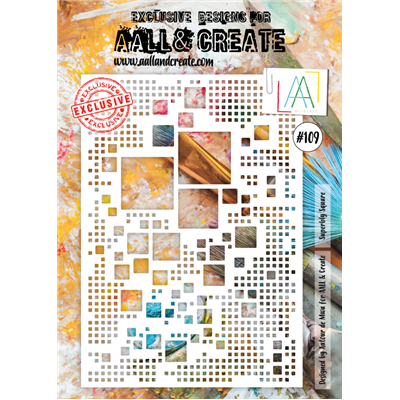 AALL and Create stencil no.109