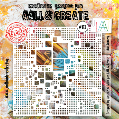 AALL and Create stencil no.113