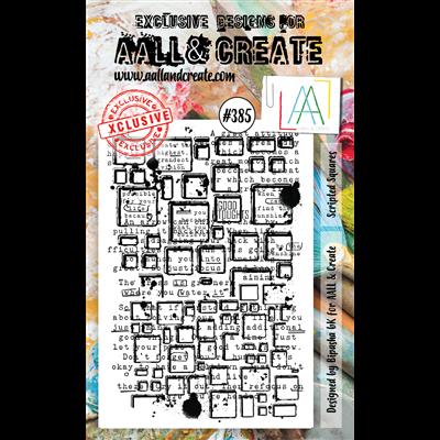 AALL and Create A6-os bélyegző no.385