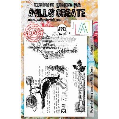 AALL and Create A5-ös bélyegző no.393