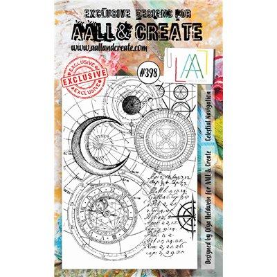 AALL and Create A6-os bélyegző no.398