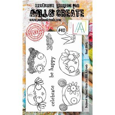 AALL and Create A6-os bélyegző no.412