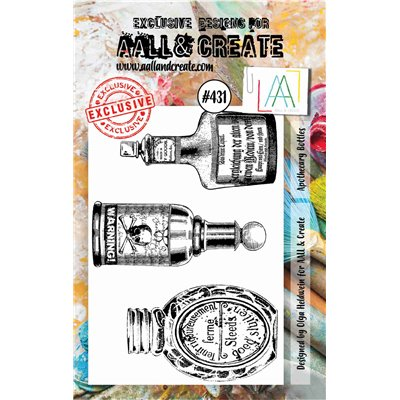AALL and Create A7-es bélyegző no.431