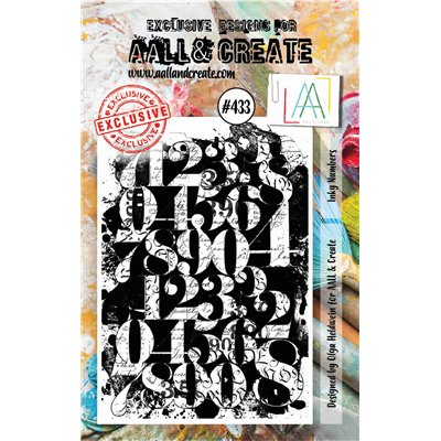 AALL and Create A7-es bélyegző no.433