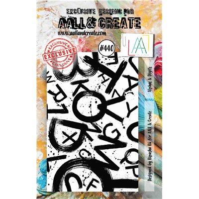 AALL and Create A7-es bélyegző no.440