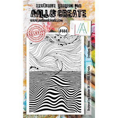 AALL and Create A6-os bélyegző no.444