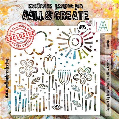 AALL and Create stencil no.95