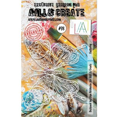 AALL and Create stencil no.098