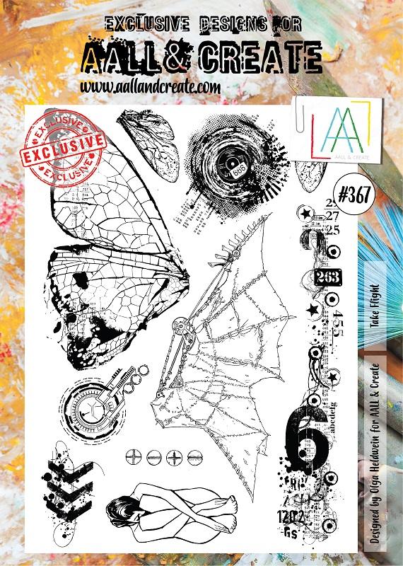 AALL and Create A4-es bélyegző no.367