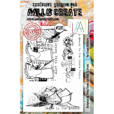 AALL and Create A5-ös bélyegző no.370