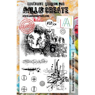 AALL and Create A5-ös bélyegző no.371