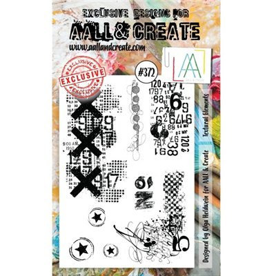 AALL and Create A6-os bélyegző no.372