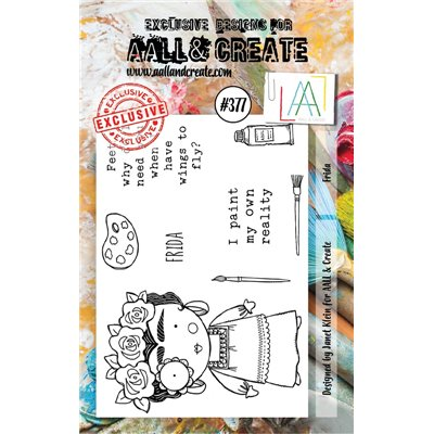 AALL and Create A7-es bélyegző no.377