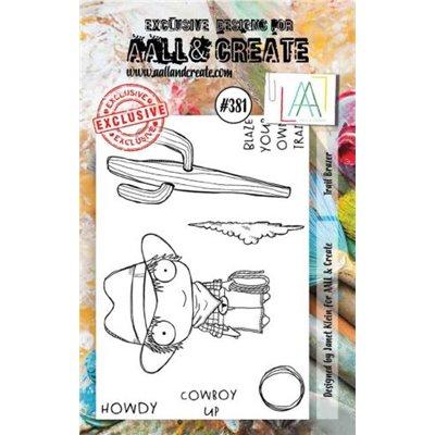 AALL and Create A7-es bélyegző no.381