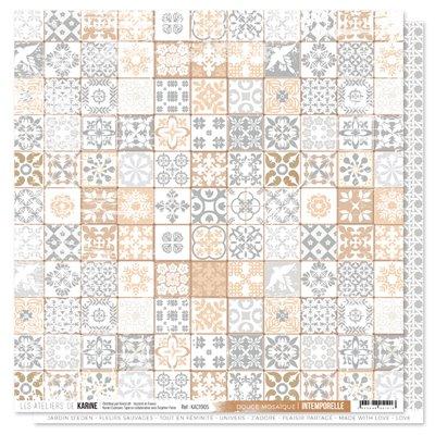 "Intemporelle sheet 5 - 12""-es scrapbook papír"
