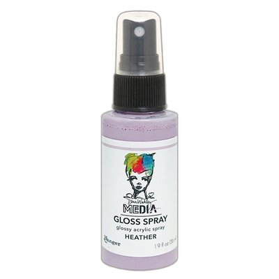 Dina Wakley Media Gloss Spray - heather