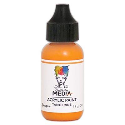 Dina Wakley Media Acrylic Paint - tangerine