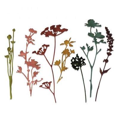 Sizzix Thinlits Vágókés szett - Wildflowers
