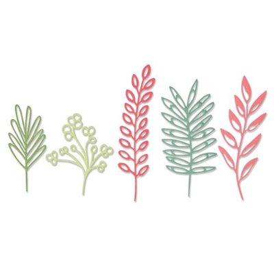 Sizzix Thinlits Vágókés szett - Delicate Leaves