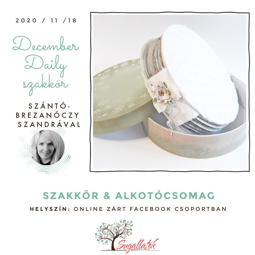 December Daily - SZAKKÖR + ALKOTÓCSOMAG