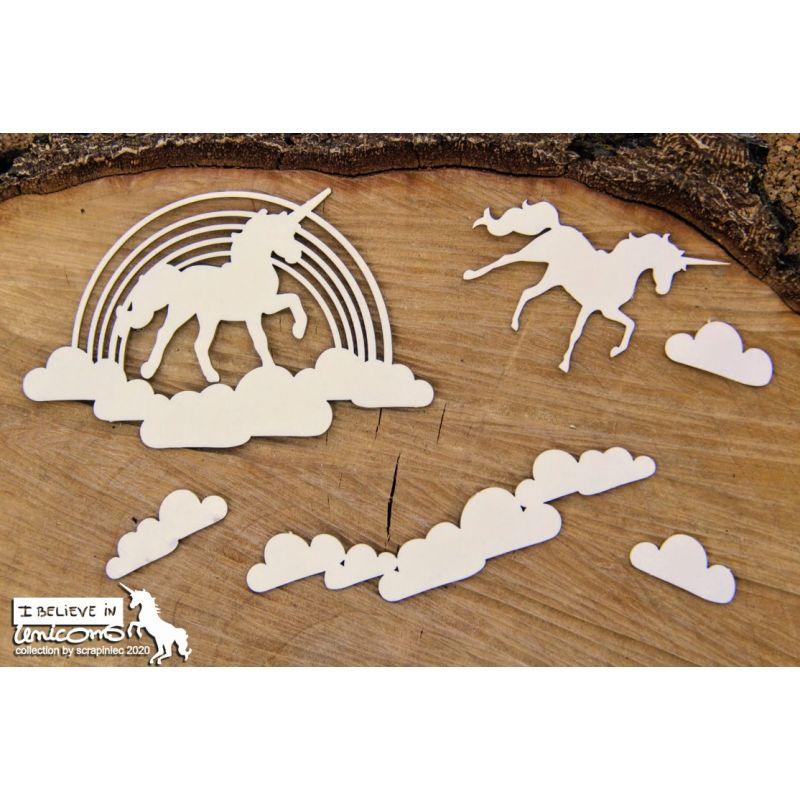 Believe in Unicorns - szivárvány dekorok